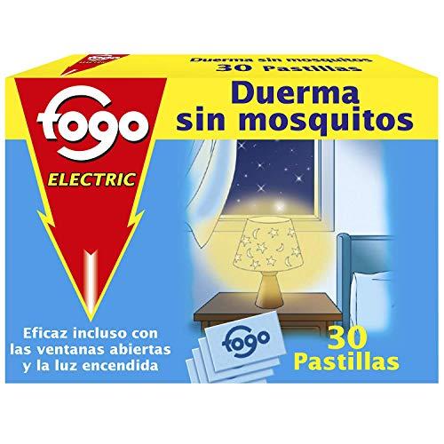 FOGO insecticida eléctrico antimosquitos recambio caja 30 pastillas