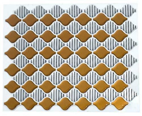 Stafeny Farolillo adhesivo de pared, papel pintado autoadhesivo, azulejos resistentes al agua, adhesivos de pared ecológicos, pelar y pegar azulejos para cocina y baño.