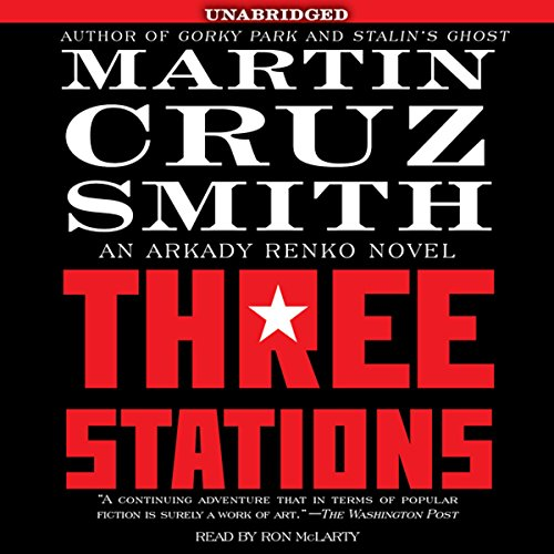 Three Stations audiobook cover art