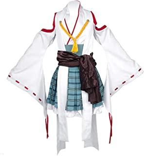 EChunchan Kantai Collection Cosplay Costume Hiei Kimono Outfit Women Dress