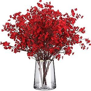 U/N Babys Breath Artificial Gypsophila Flowers 4 PCS European Real Touch Silk Plants Decor Wedding Party Decoration Bouquets DIY Home Garden