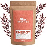 Té Energético | Té Energía | 100 grs(60 Días) | Energizante Natural | Ingredientes Premium Té Verde, Yerba Mate, Espirulina, Diente de León, Cola de Caballo, Guaraná…