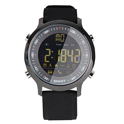 Sport Smart Watch Reloj Inteligente EX18reloj deportivo 5ATM resistente al agua podómetro Bluetooth 4.0llamadas SMS recordatorio para Android IOS