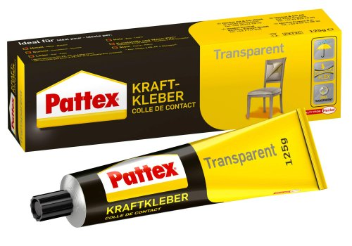 Pattex Kraftkleber 125 g Tube, transparent