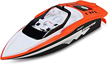 ZYLFN Rabing RC Boat for Pools and Lakes,Racing Boats 2.4GHz High Speed Remote Control Boat for Kids Adults Boys Girls