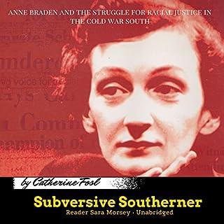 Subversive Southerner audiobook cover art