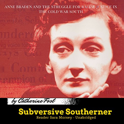 Subversive Southerner audiobook cover art