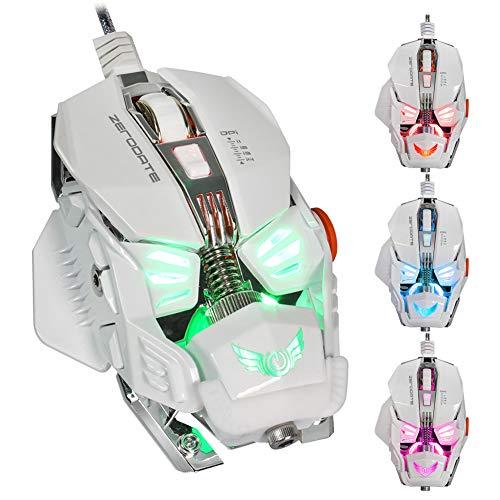 E-sports mouse mecánico Ratón juegos Cableado, 8
