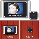 Somikon Spion: Digitale Türspion-Kamera mit Bewegungserkennung und Akku (Elektronischer Türspion)