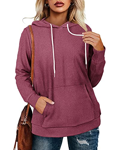 Oversized Hoodies for Women Fall Winter Vintage Comfy Sweatshirts XX-Large