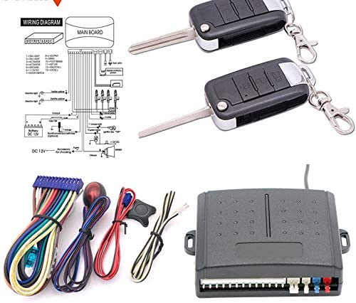 YIWMHE for One Way Super Special SALE held Car Central Rem Kit Locking System Alarm Auto Max 48% OFF