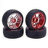 HaiMa Zd Racing 1:10 Drift Car Aluminium Alloy Wheels Tire 2Pcs - Noir