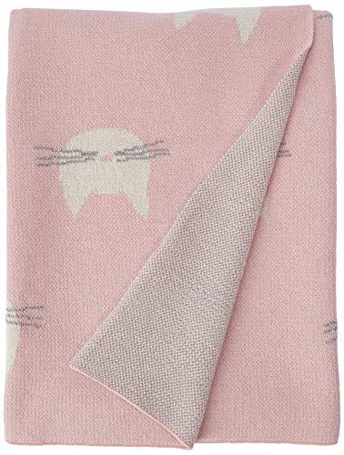 Abbott Collection - Manta para Gato (32 x 40 L, algodón), Color Rosa