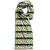 Beatles In Color Long Scarfs Womens Stylish Shawl Wrap Large Blanket For Fall & Winter 11' X 71'