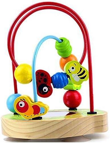 compra en línea hoy MSNDIAN Juguetes educativos para para para Niños Base con Ventosa de Seguridad Alrojoedor del Juguete para Cuentas pequeño bebé de Cuentas Juguetes educativos  tienda de venta en línea