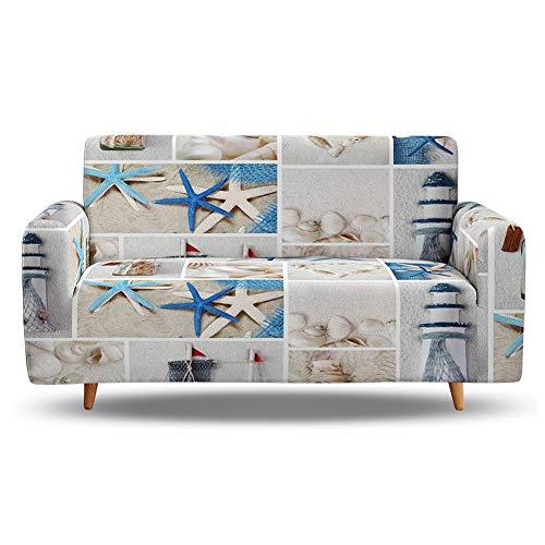 ZFHNY High Stretch Sofabezug L Form für 1 2 3 4 Sitzer,Couch Cover Schonbezüge,Sofabezüge und Loveseat Bezüge für Hunde Kinder Haustiere,Sofa Schonbezug für Sectional Möbelschutzbezug für Wohnzimmer