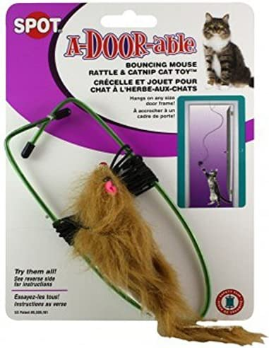 Ethical A-Door-Able Bouncing Mouse Cat Toy