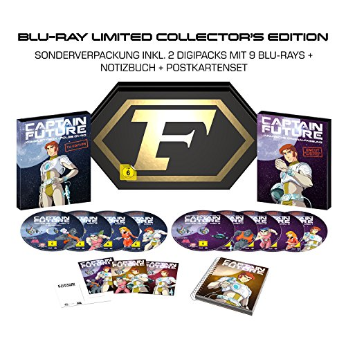 Captain Future Komplettbox BD (Limited Collector's Edition exklusiv bei Amazon.de) [Blu-ray]