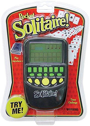 Pocket Arcade Westminster Solitaire Game Novelty