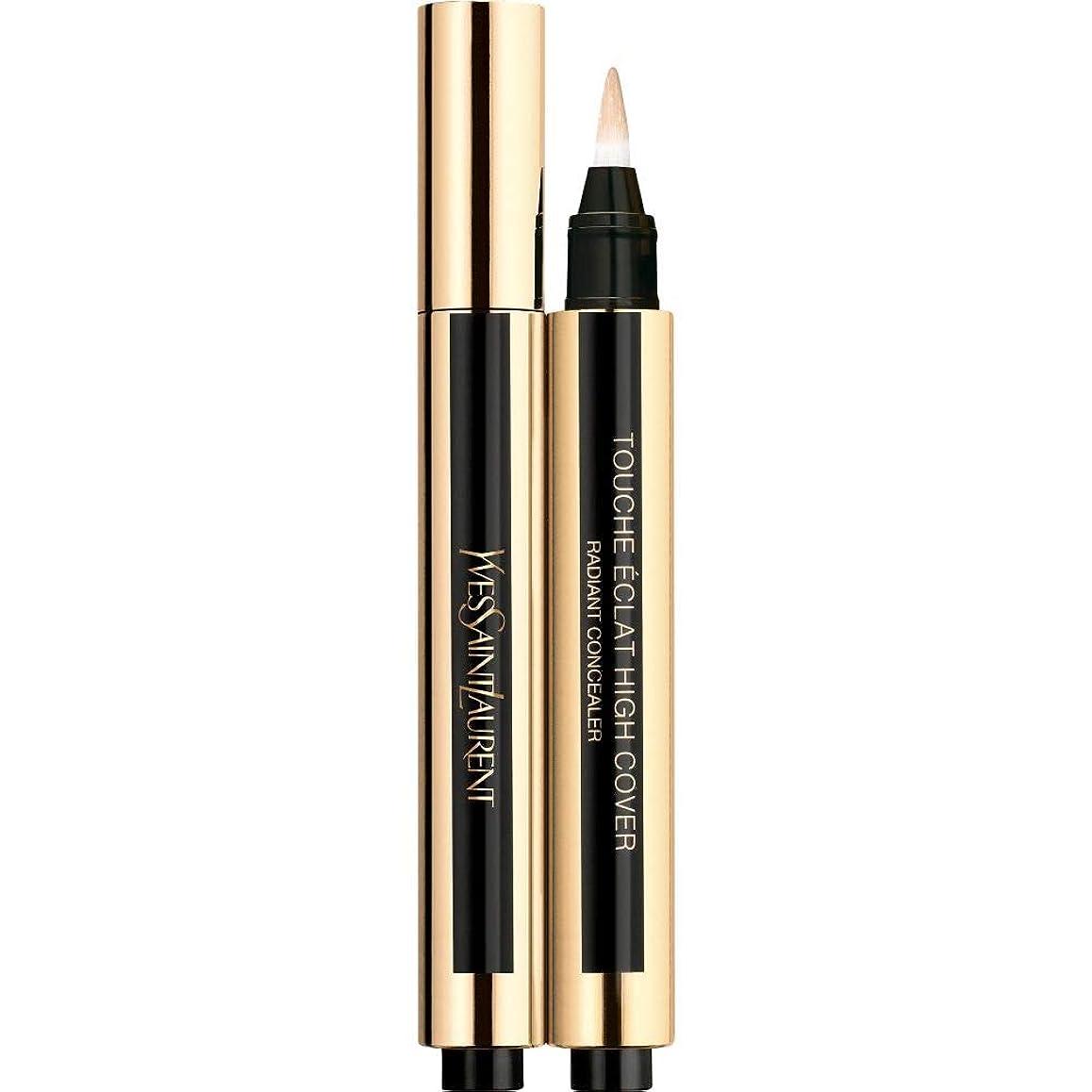 パックで出来ている懐[Yves Saint Laurent] 0.5 2.5ミリリットルイヴ?サンローランのトウシュエクラ高いカバー放射コンシーラーペン - バニラ - Yves Saint Laurent Touche Eclat High Cover Radiant Concealer Pen 2.5ml 0.5 - Vanilla [並行輸入品]