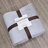 Manta Soft Warm Coral Fleece Blanket Winter Summer Sheet Bedspread Sofa Plaid Throw Blanket 5 Sizes Mechanical Wash Flannel Blankets 70X100Cm Lightgra
