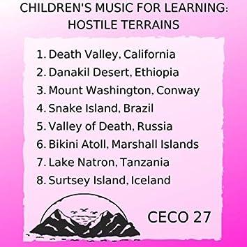 Children's Music for Learning: Hostile Terrains