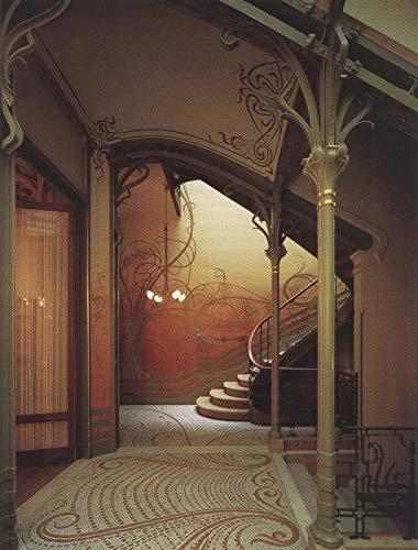 351 Victor horta Ladder van The Tassel Hotel Brussels 1893 - Film Film Poster - Beste Print Kunst Reproductie Kwaliteit Wanddecoratie Gift Poster A4
