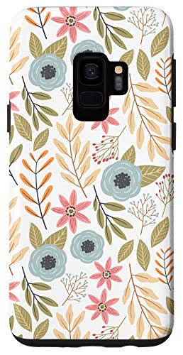 Galaxy S9 Aesthetic Wildflower Floral Phone Case
