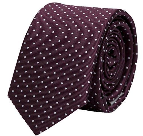 Fabio Farini - Elégante cravate pour homme en 6 cm ou 8 cm de large, en différentes couleurs pour toutes les occasions comme le mariage, la confirmati