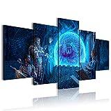 CAFO Cinco imágenes consecutivas El Elder Scrolls Online Summerset Juego Decoración de dormitorio 200x100cm sin marco