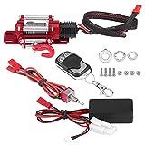 Cabrestante RC, 1/10 RC Crawler, cabrestante de metal eléctrico, modelo de vehículo Crawler con...