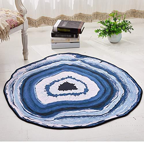 Jiamuxiangsi tapijten bureaustoelmat hangende mand rond dik tapijt antislip woonkamer tapijt multifunctionele tapijten & pads