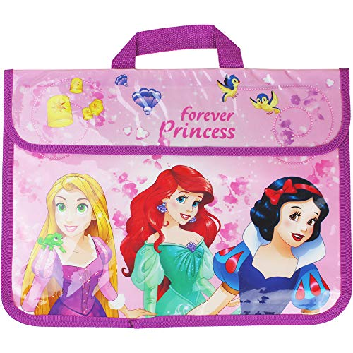 Girl's Disney Forever Princess School Document Book Satchel Bag