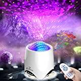Voice Control Star Light Projector for Bedroom, E-POWIND Starry Night Light Projector with Bluetooth Speaker, Multi-Modes Star Projector for Ceiling for Adults, Valentines Day Gifts, Remote Control