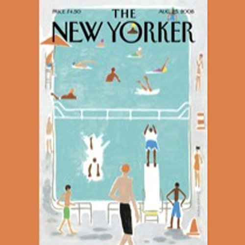 The New Yorker, August 25th, 2008 (Anthony Lane, Nick Paumgarten, Tobias Wolff) copertina