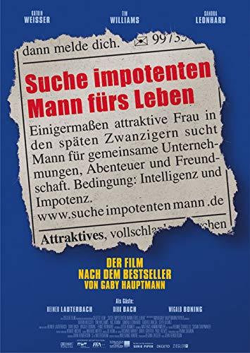 Suche impotenten Mann fürs Leben (2003)   original Filmplakat, Poster [Din A1, 59 x 84 cm]