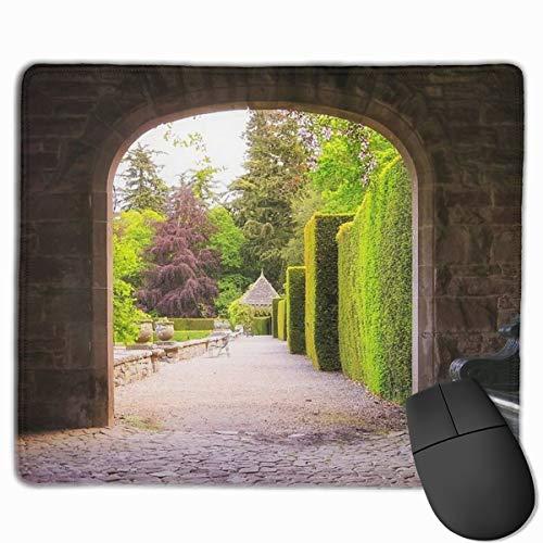 Alfombrilla de ratón para Entrada de jardín Italiano, tamaño 25 x 30...
