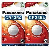Panasonic 2354 CR2354 3V Litio Baterías, 2 Pieza