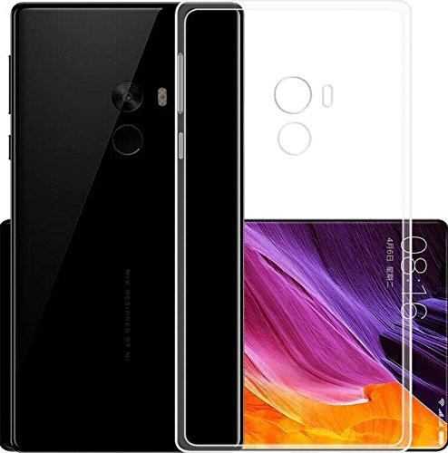 Cover Xiaomi Mi Mix 2s Custodia Xiaomi Mi Mix 2s TopACE Custodia Puro Trasparente Morbida TPU Silicone Ultra Sottile Case...