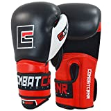 Combat Corner S-Class Boxing Gloves for Men and Women - Kickboxing, MMA, Muay Thai Sparring Training...