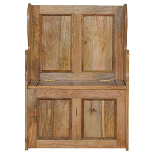 Artisan Furniture Small Wood Storage Hallway Monks for sale  Delivered anywhere in UK