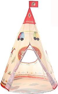 JBHURF Tente pour Enfants Crawling Indian Enfants Tente Tente Enfants Fairy Tale Play House Salon Doll Maison Convient aux...