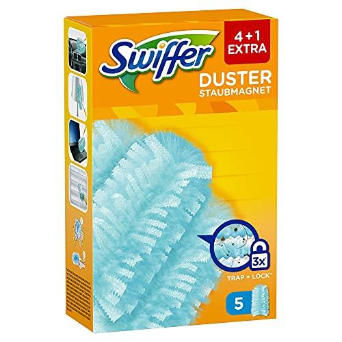 Swiffer Duster Recharges, 25 (5 x 5) Recharges Plumeau, Plumeau Attrape-Poussière