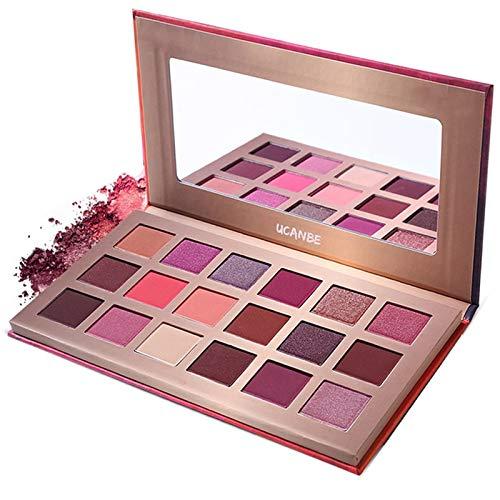 ROMANTIC BEAR 18 Farben Traumland und Magie Lidschatten Paletten Make-up Kosmetik Pfirsichblüte Herz Art Stil