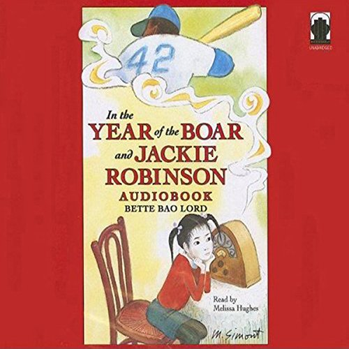 In the Year of the Boar and Jackie Robinson audiobook cover art