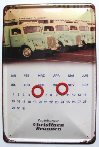 Christinen Brunnen - Endloskalender - 20x30 cm - Neu