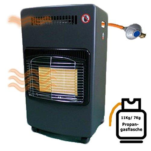 Ceramica riscaldamento a gas 6,2KW con convezione Termoventilatore infrarossi stufa a gas Stufa a...