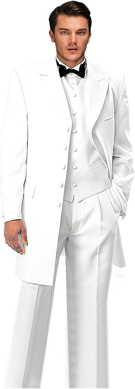 Max 48% OFF Wemaliyzd Chicago Mall Men's Vintage 3 Pieces Suit Tuxedo Fit Classic Si Plus
