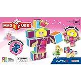 Geomag- Magicube Princess, Cubos magnéticos, Multicolor (143)