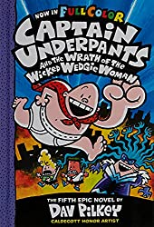 Cover of Captain Underpants and the Wrath of the Wicked Wedgie Woman